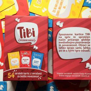 SPOZNAVNE KARTICE TIBI in TIBI-najst